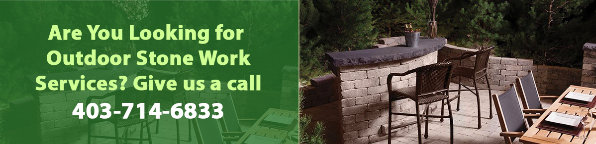 Professional stone work in calgary